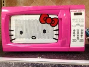 Pink Hello Kitty Microwave