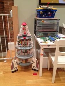 Rocket Ship Doll House