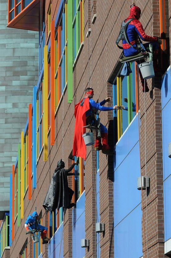 Superhero-Windowwashers