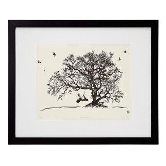 "A drawing by artist Matthew Amey, entitled ""Free"""
